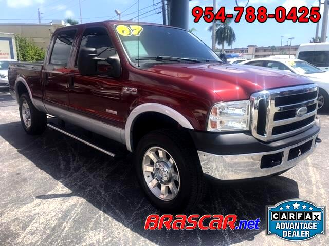 "2007 Ford Super Duty F-250 4WD Crew Cab 156"" XL"