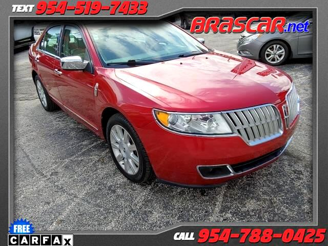 2012 Lincoln MKZ 4dr Sdn FWD