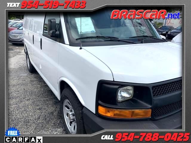 """2012 Chevrolet Express Cargo Van RWD 1500 135"""""""