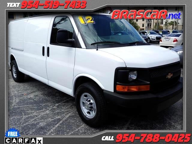 """2012 Chevrolet Express Cargo Van RWD 3500 155"""""""