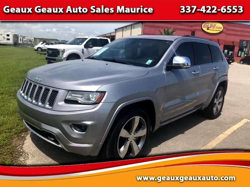 Jeep Grand Cherokee Overland 2WD 2014