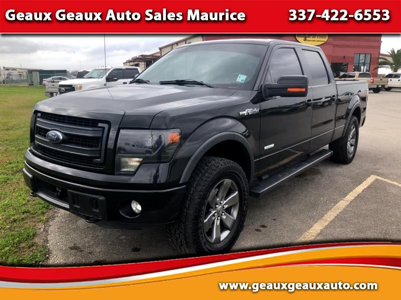 "Ford F-150 4WD Supercab Flareside 145"" FX4 2014"