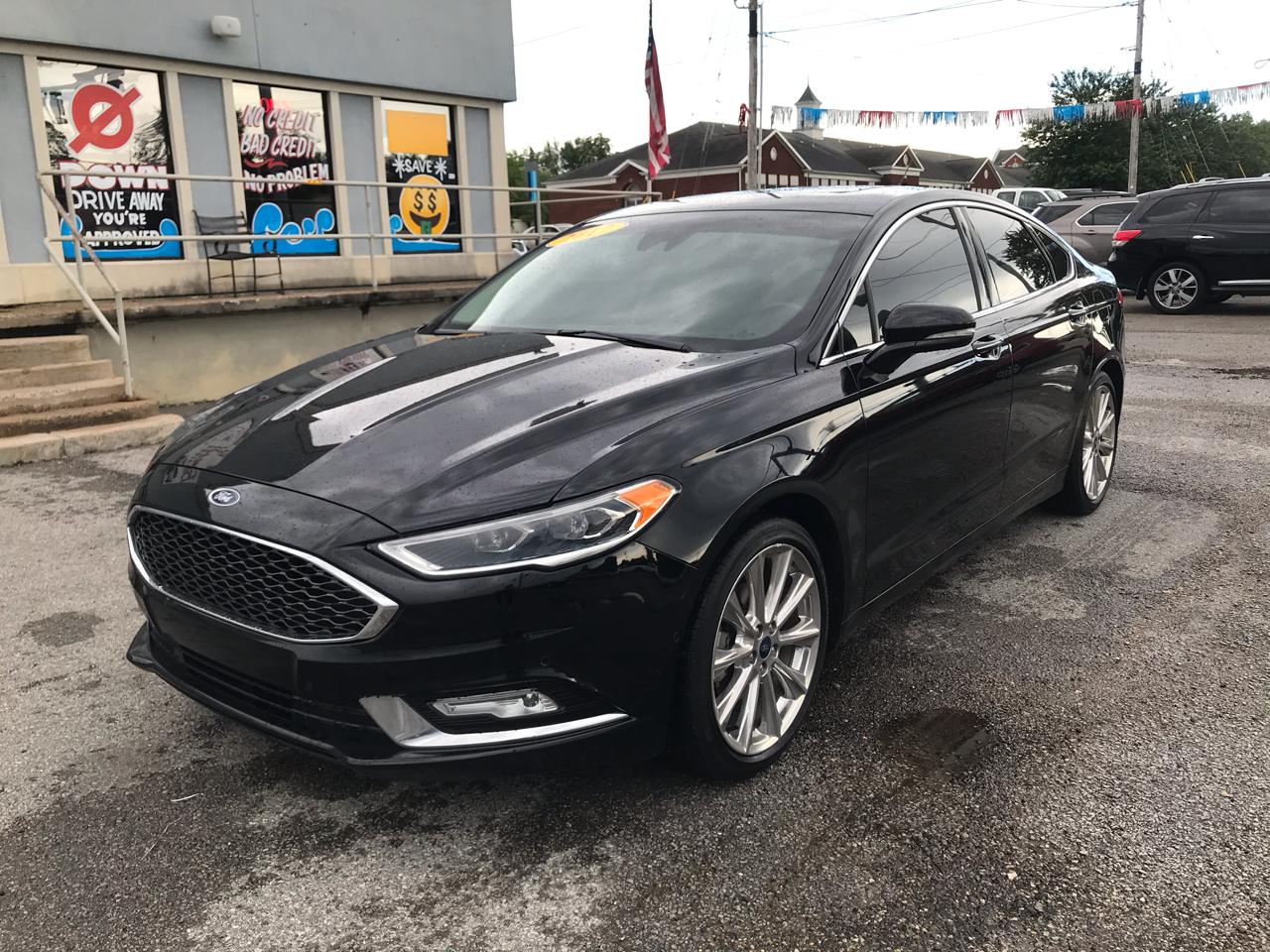 Ford Fusion Titanium FWD 2017
