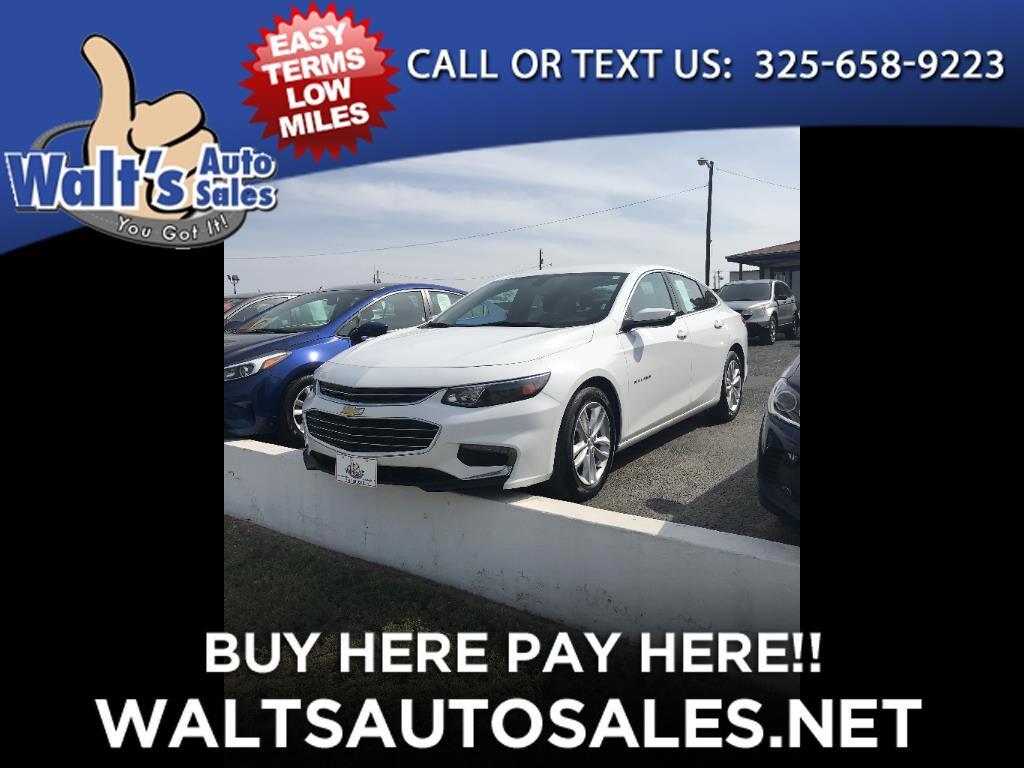 2017 Chevrolet Malibu 4dr Sdn LT w/1LT
