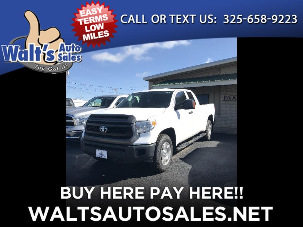 2015 Toyota Tundra 4WD Truck Double Cab 5.7L FFV V8 6-Spd AT SR (Natl)