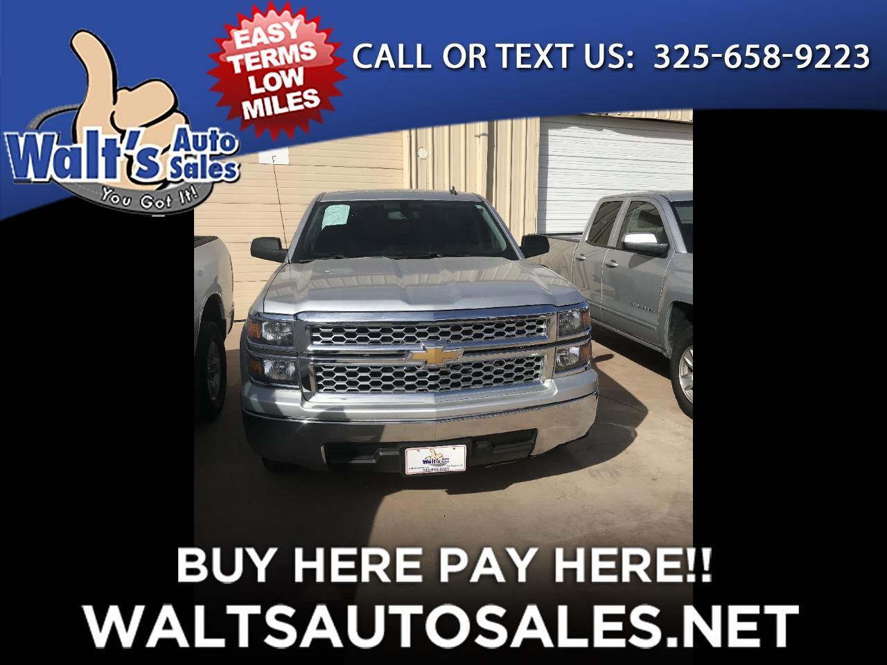 """2014 Chevrolet Silverado 1500 2WD Crew Cab 143.5"""" LT w/1LT"""