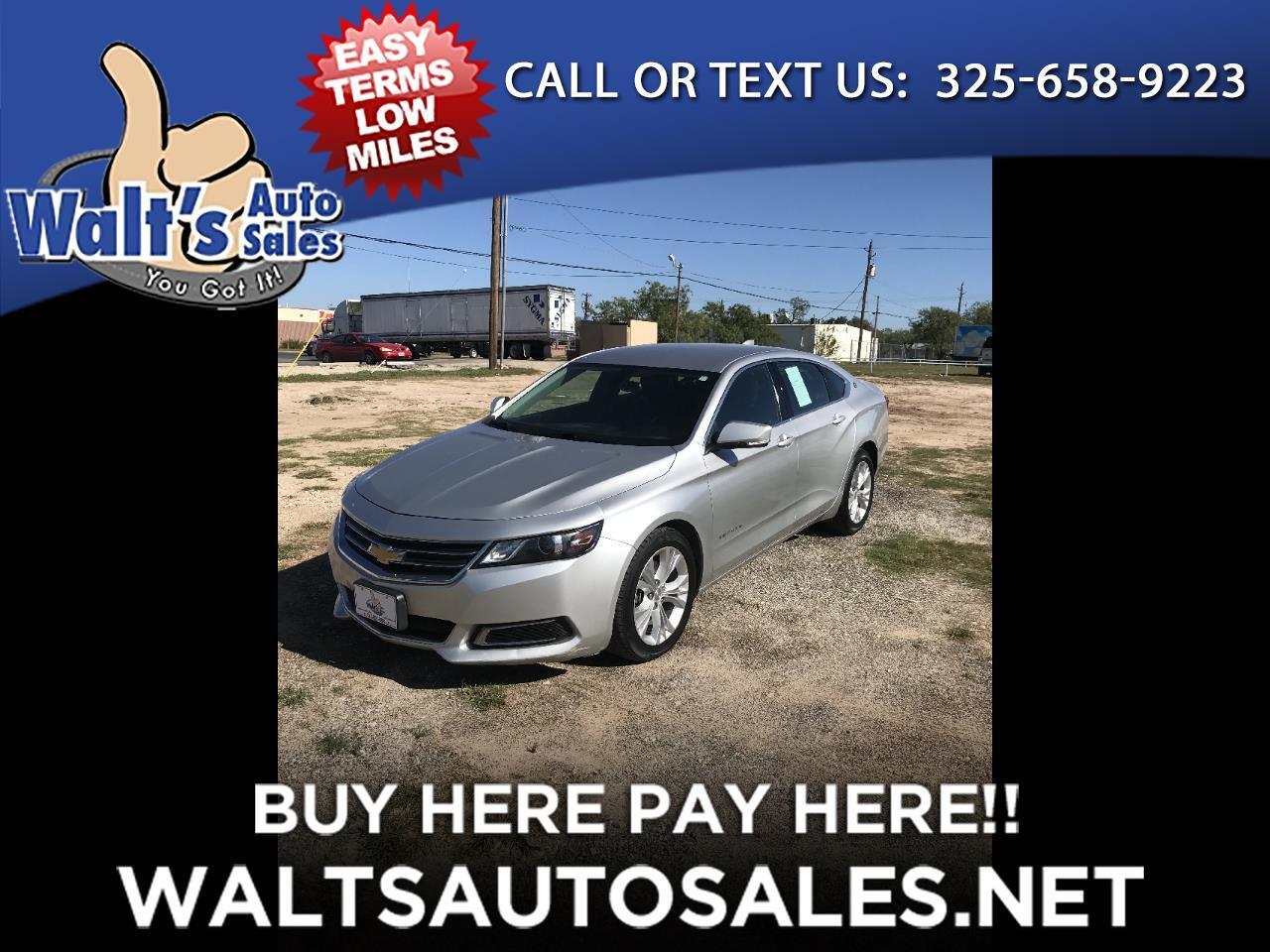 2015 Chevrolet Impala 4dr Sdn LT w/1LT