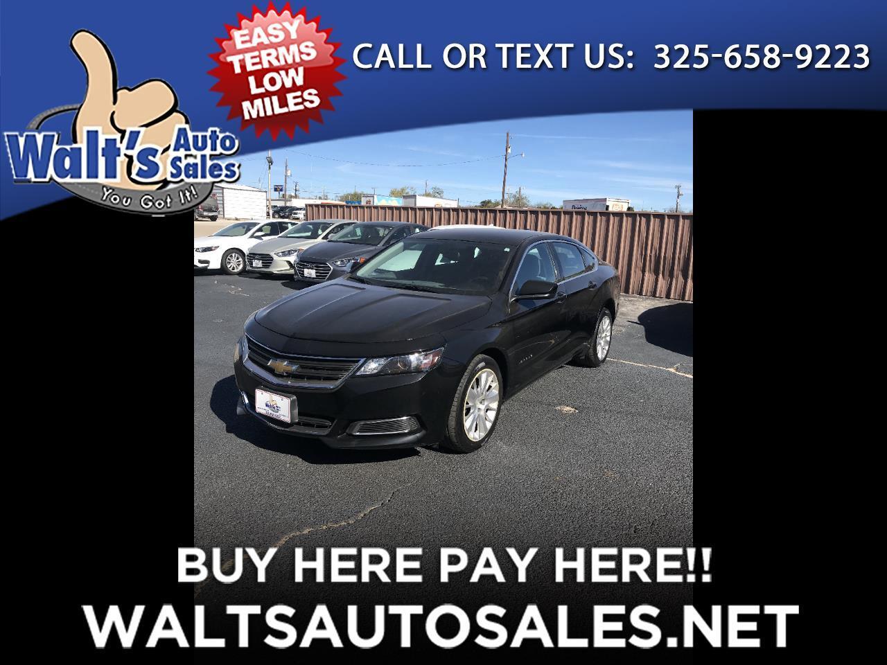 2017 Chevrolet Impala 4dr Sdn LS w/1FL