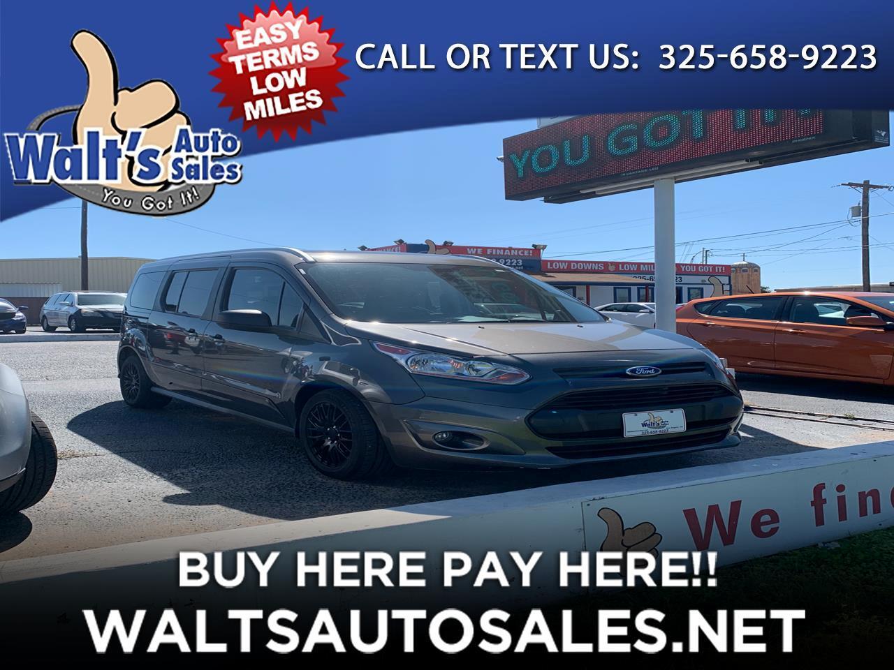 2016 Ford Transit Connect Wagon 4dr Wgn LWB XLT w/Rear Liftgate