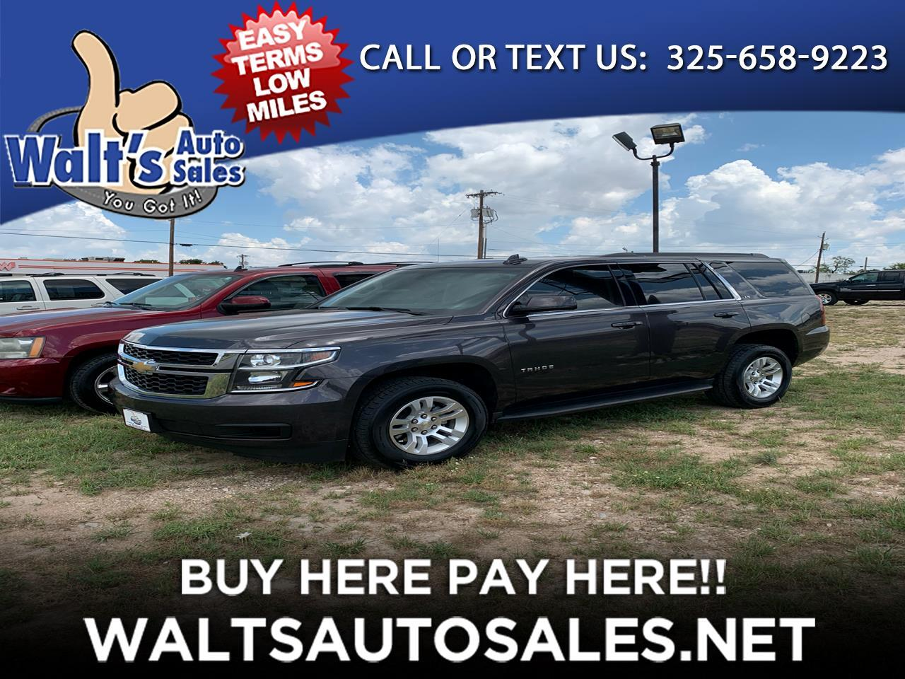 2015 Chevrolet Tahoe 2WD 4dr LS