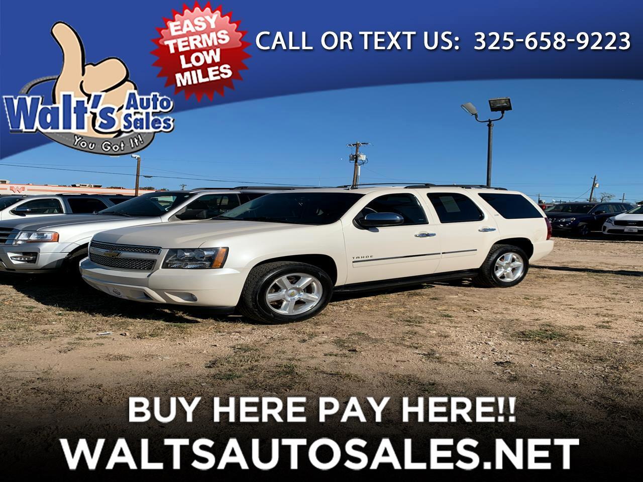 Chevrolet Tahoe 2WD 4dr 1500 LTZ 2013