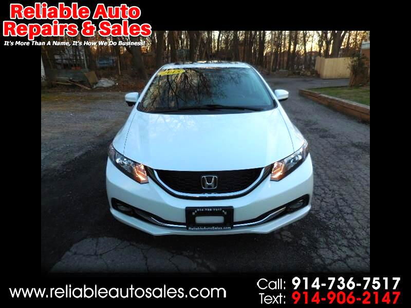2015 Honda Civic EX-L Sedan CVT