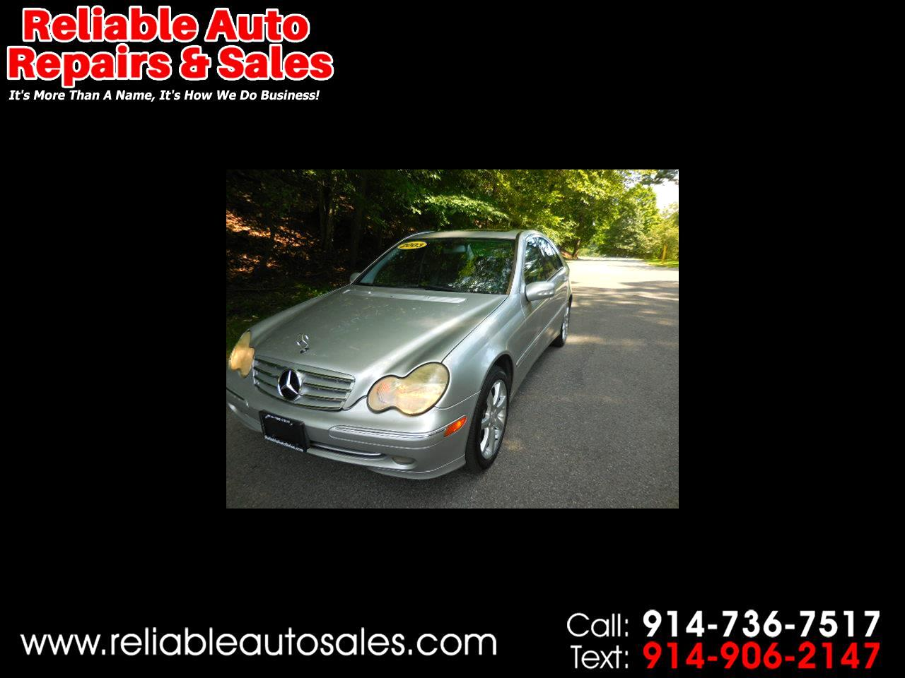 2003 Mercedes-Benz C-Class C230 Sport Sedan
