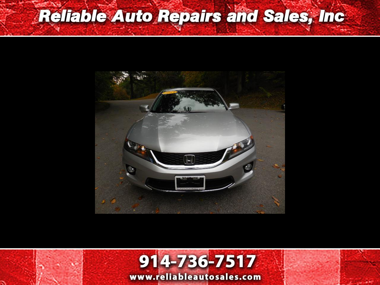 Honda Accord EX-L Coupe CVT 2013