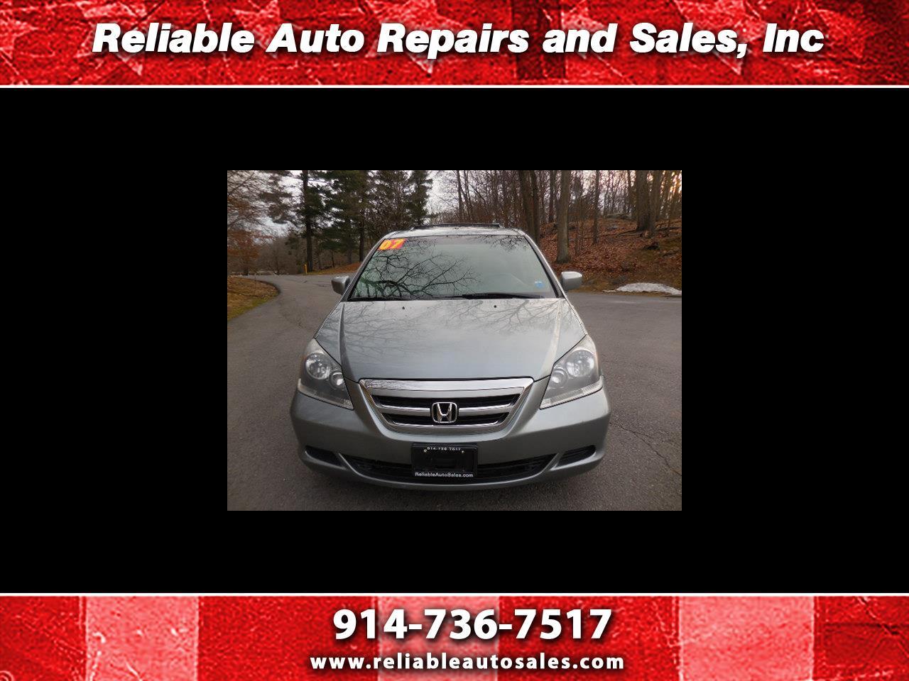 Honda Odyssey EX-L w/ DVD and Navigation 2007