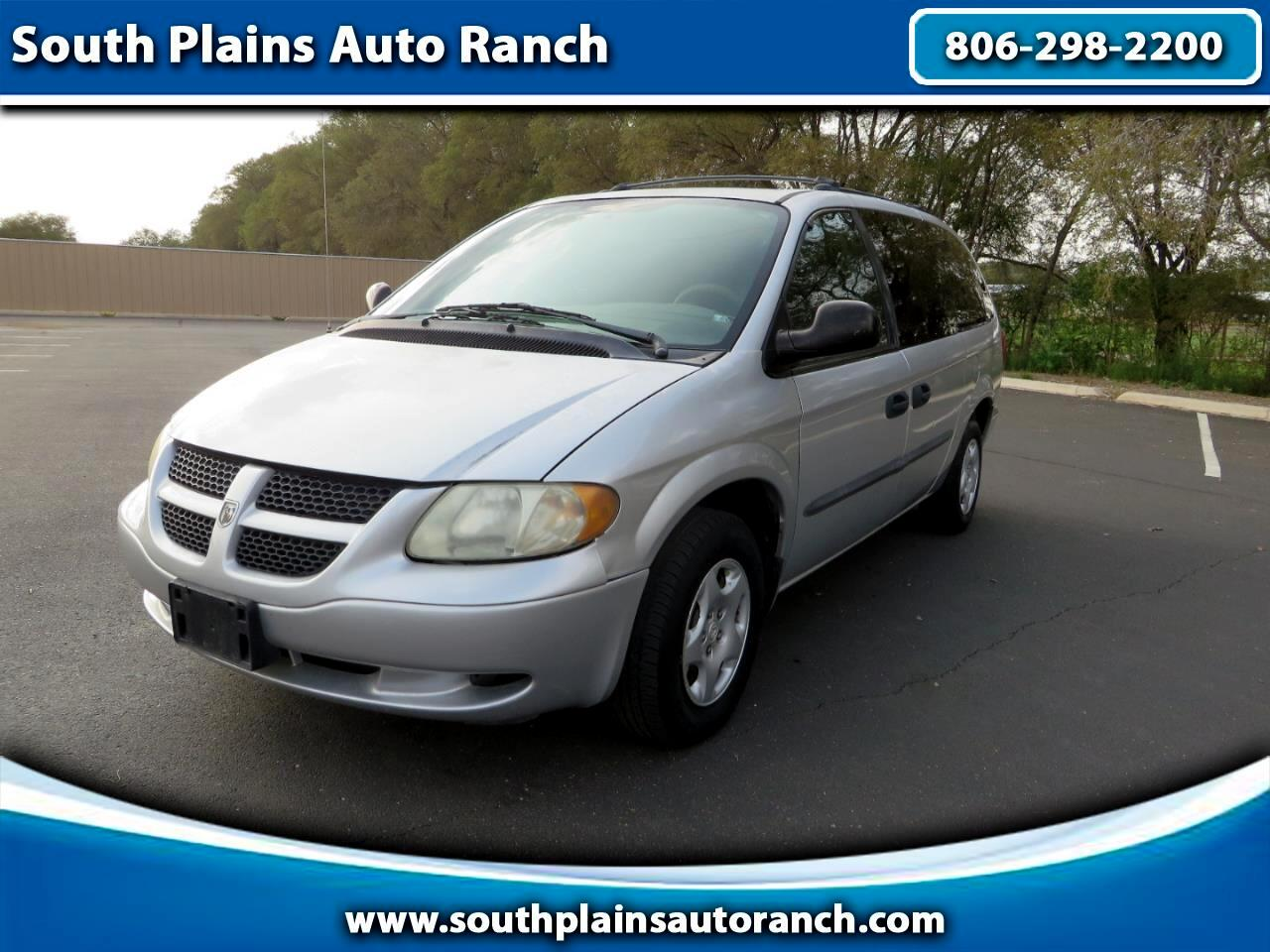 "Dodge Caravan 4dr Grand SE 119"" WB 2003"
