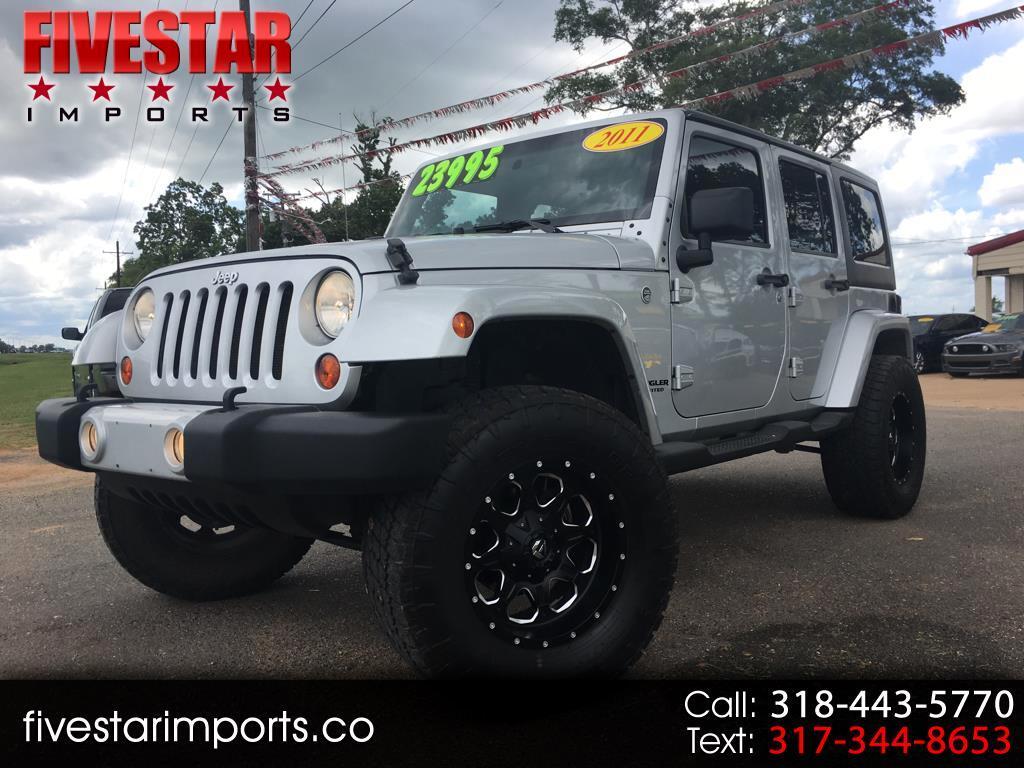 2011 Jeep Wrangler Unlimited Sahara 4x4