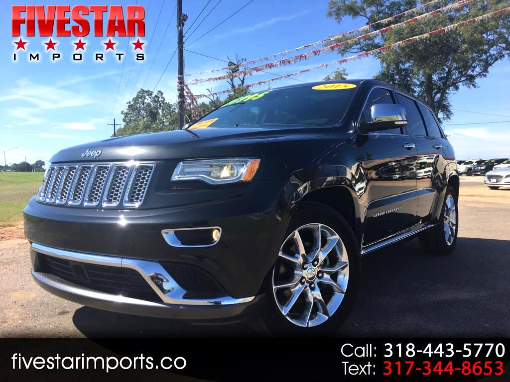 2015 Jeep Grand Cherokee RWD 4dr Summit