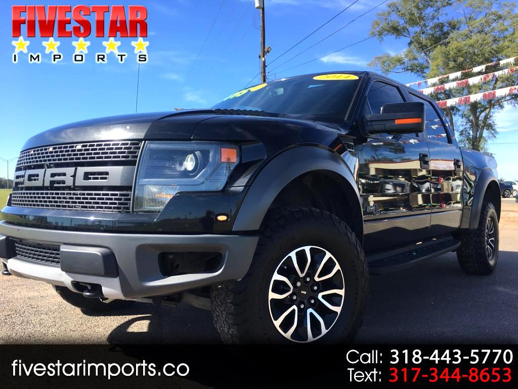 "2014 Ford F-150 4WD SuperCab 133"" SVT Raptor"