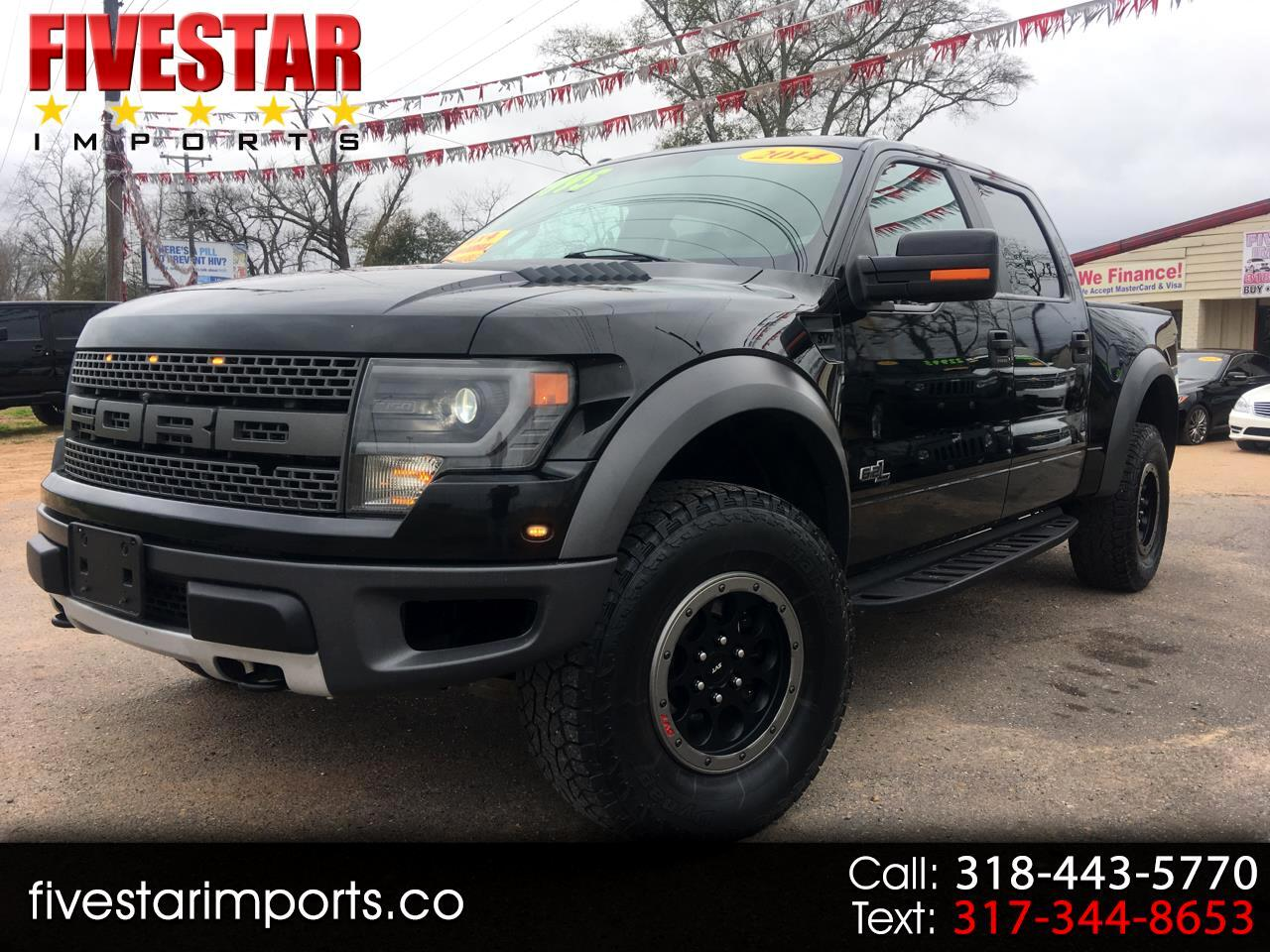 "2014 Ford F-150 4WD SuperCrew 145"" SVT Raptor"
