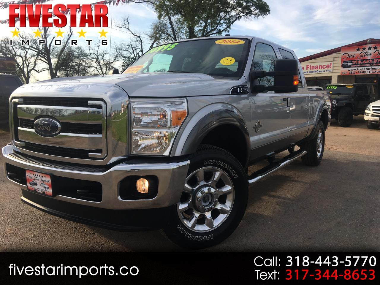 "2014 Ford Super Duty F-250 SRW 4WD Crew Cab 156"" Platinum"
