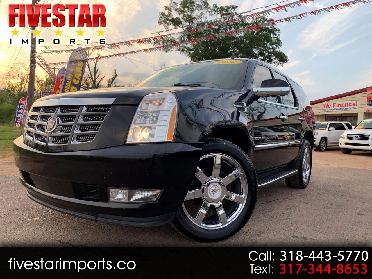 2012 Cadillac Escalade AWD 4dr Luxury