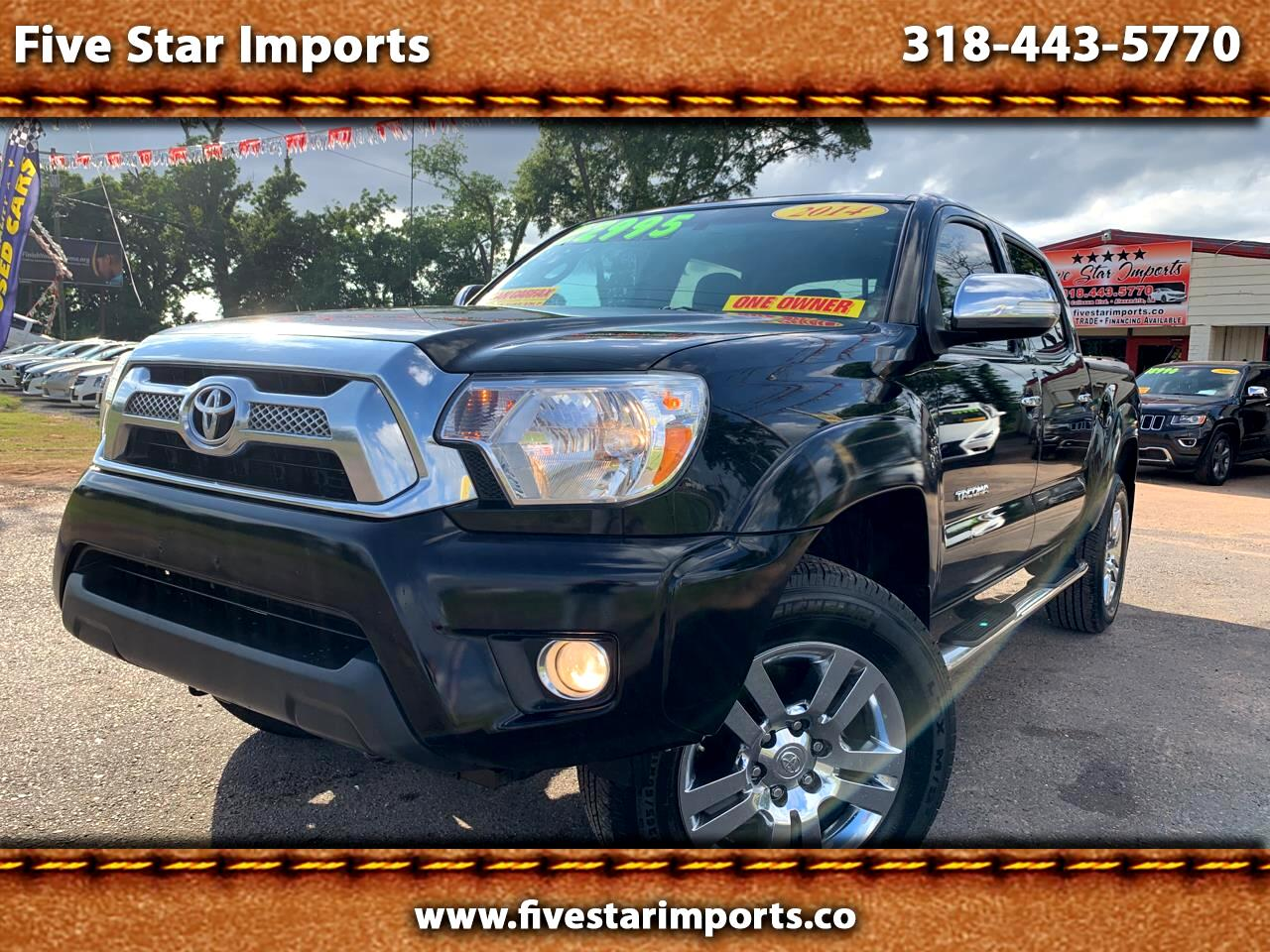 2014 Toyota Tacoma 2WD Double Cab V6 AT Limited (Natl)
