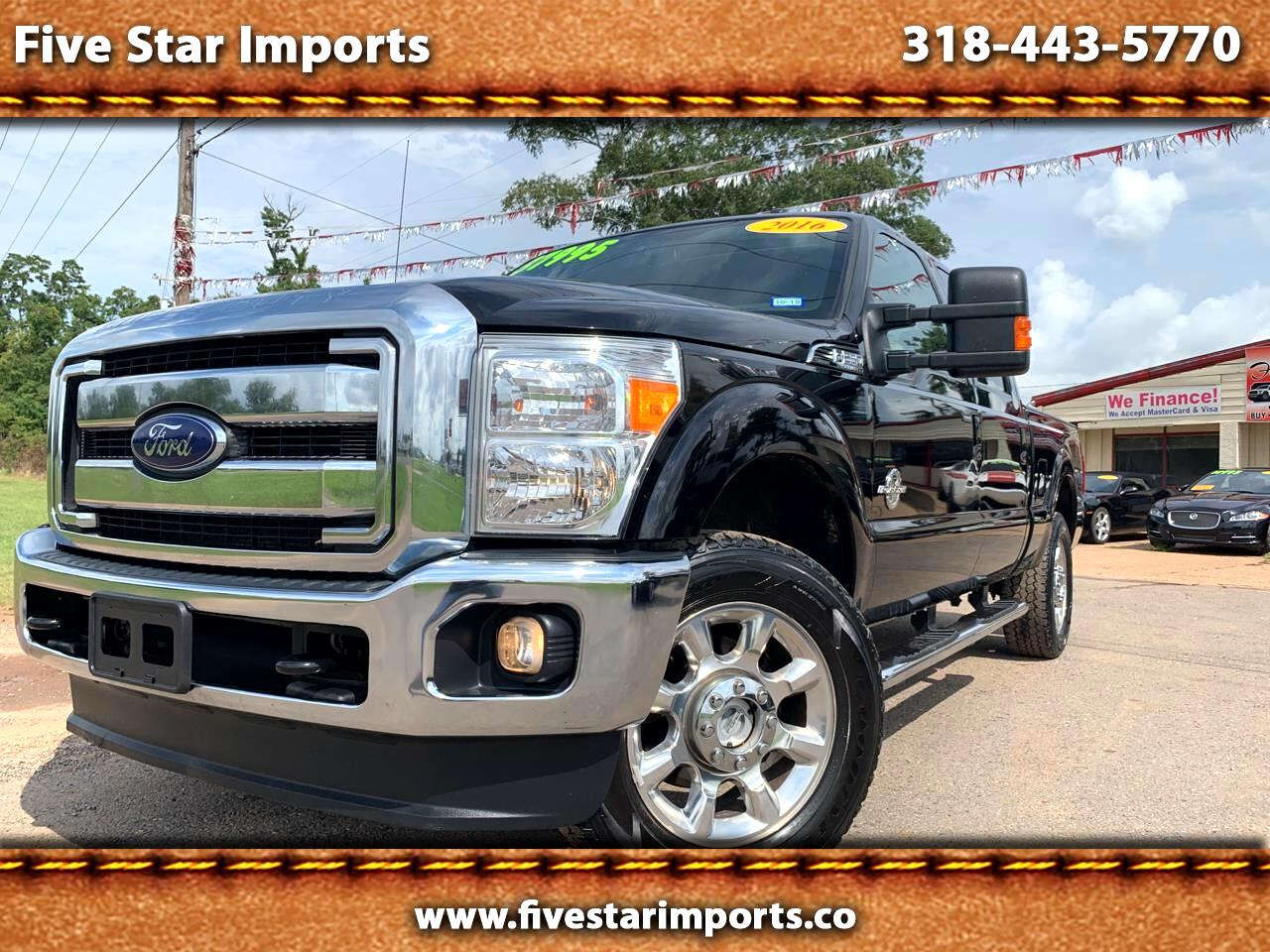 "Ford Super Duty F-250 SRW 4WD SuperCab 142"" Lariat 2016"