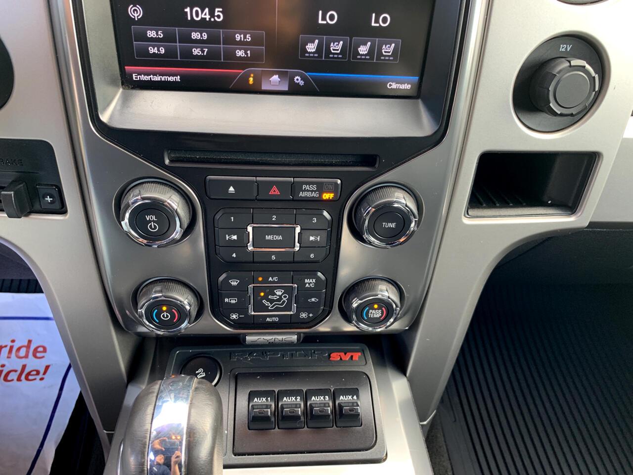 "Ford F-150 4WD SuperCrew 145"" SVT Raptor 2013"