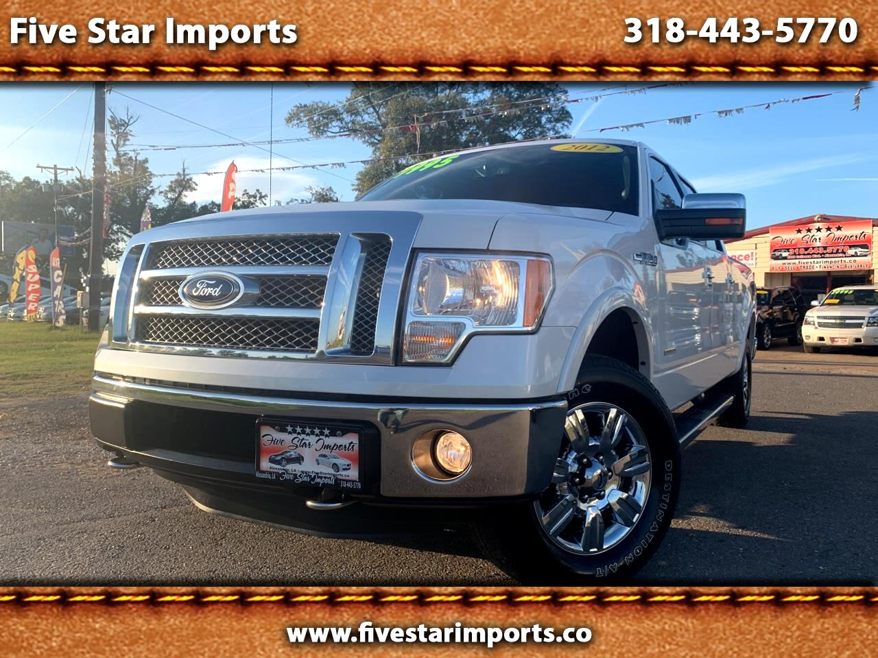 "Ford F-150 4WD SuperCrew 150"" Lariat 2012"