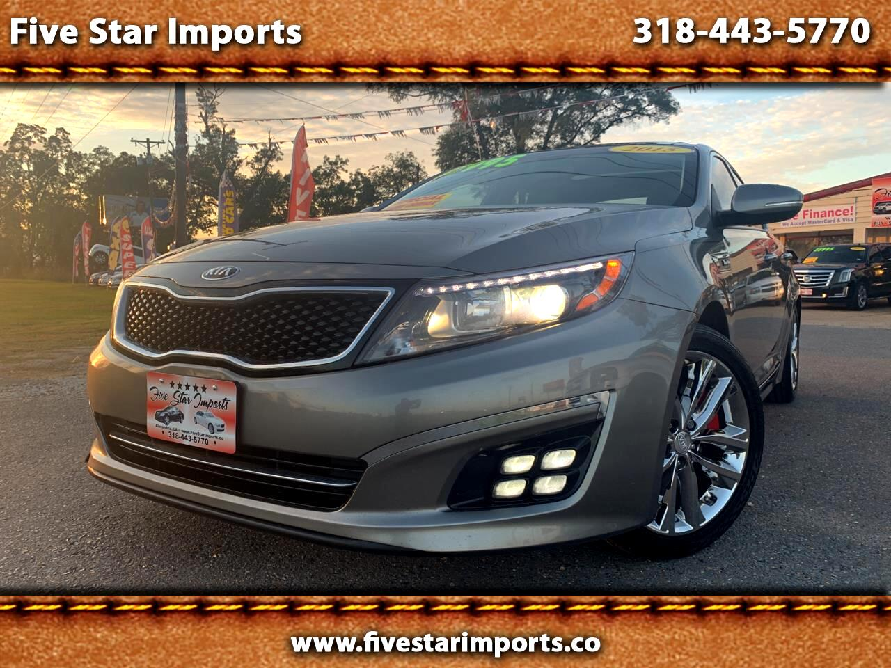 Kia Optima 4dr Sdn SXL Turbo 2015