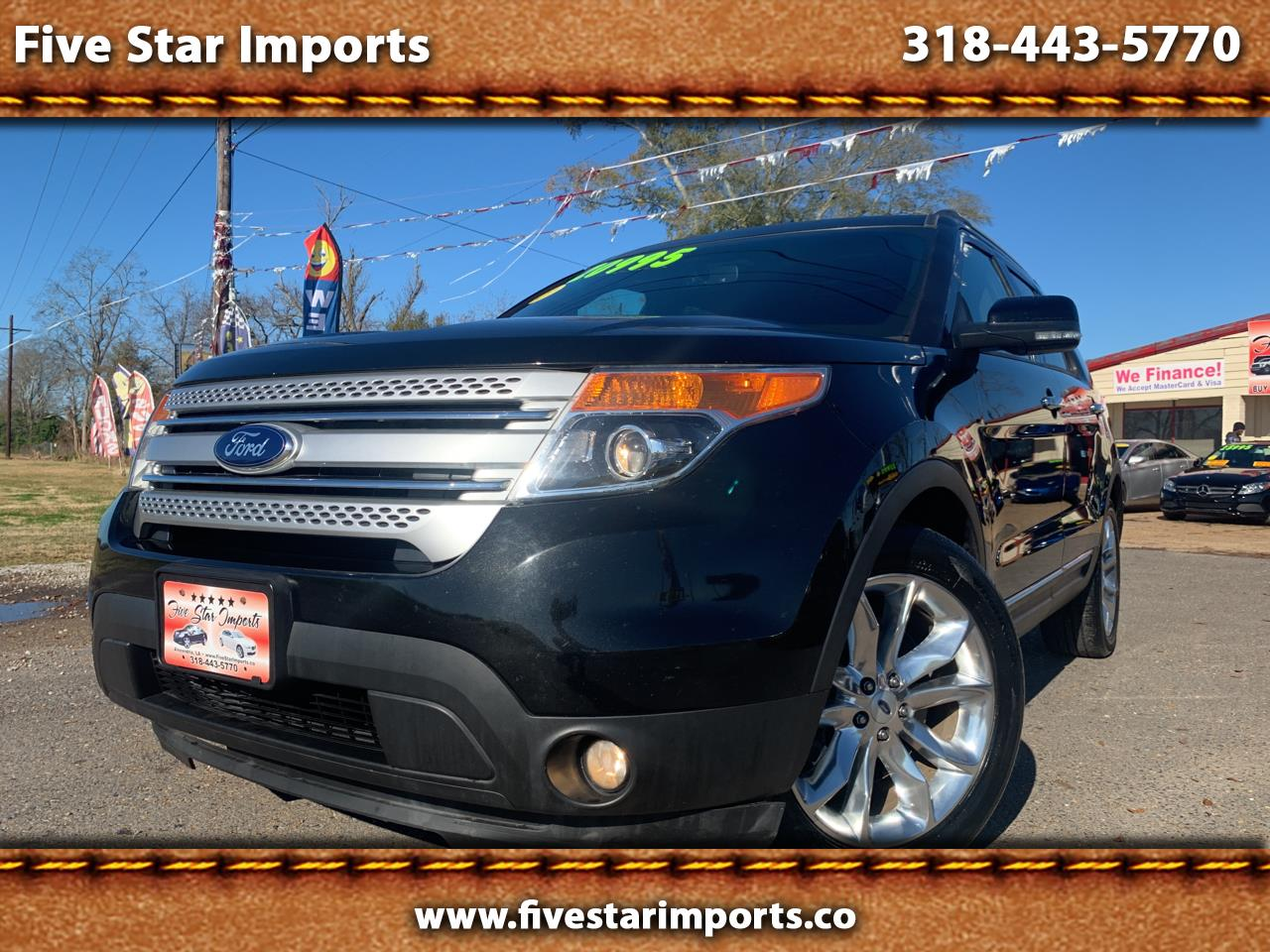 "Ford Explorer 4dr 114"" WB 4.0L Limited 2015"