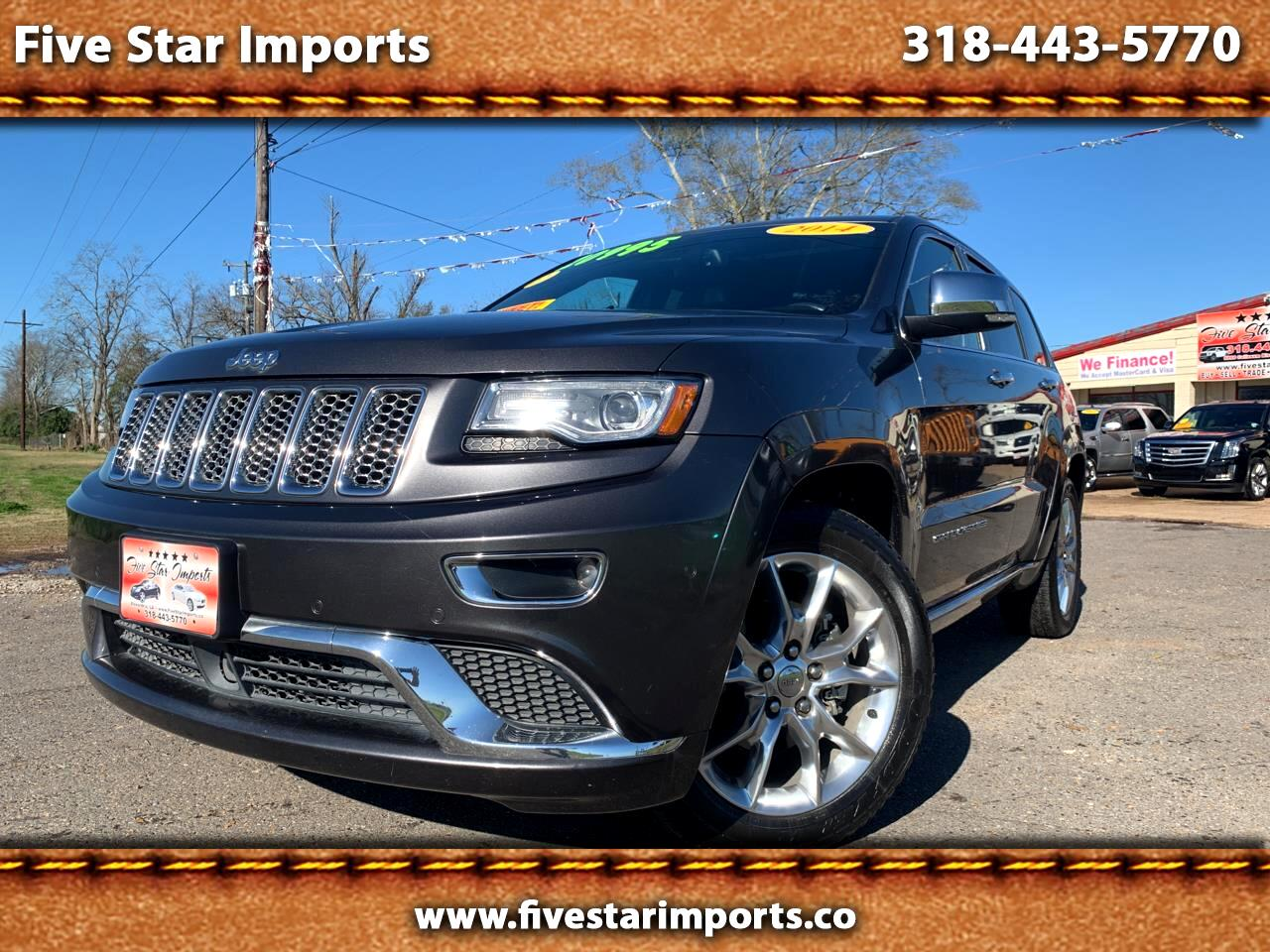 Jeep Grand Cherokee RWD 4dr Summit 2014