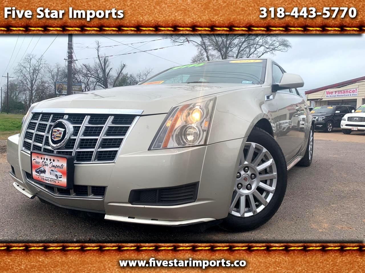 Cadillac CTS Sedan 4dr Sdn 3.0L Luxury RWD 2013