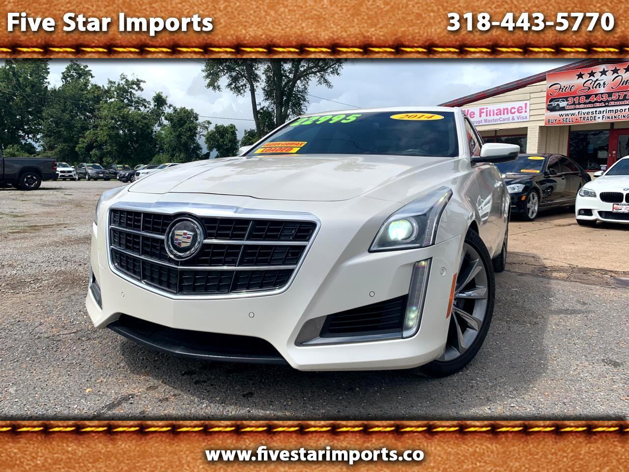Cadillac CTS Sedan 4dr Sdn 3.6L Twin Turbo Vsport Premium RWD 2014
