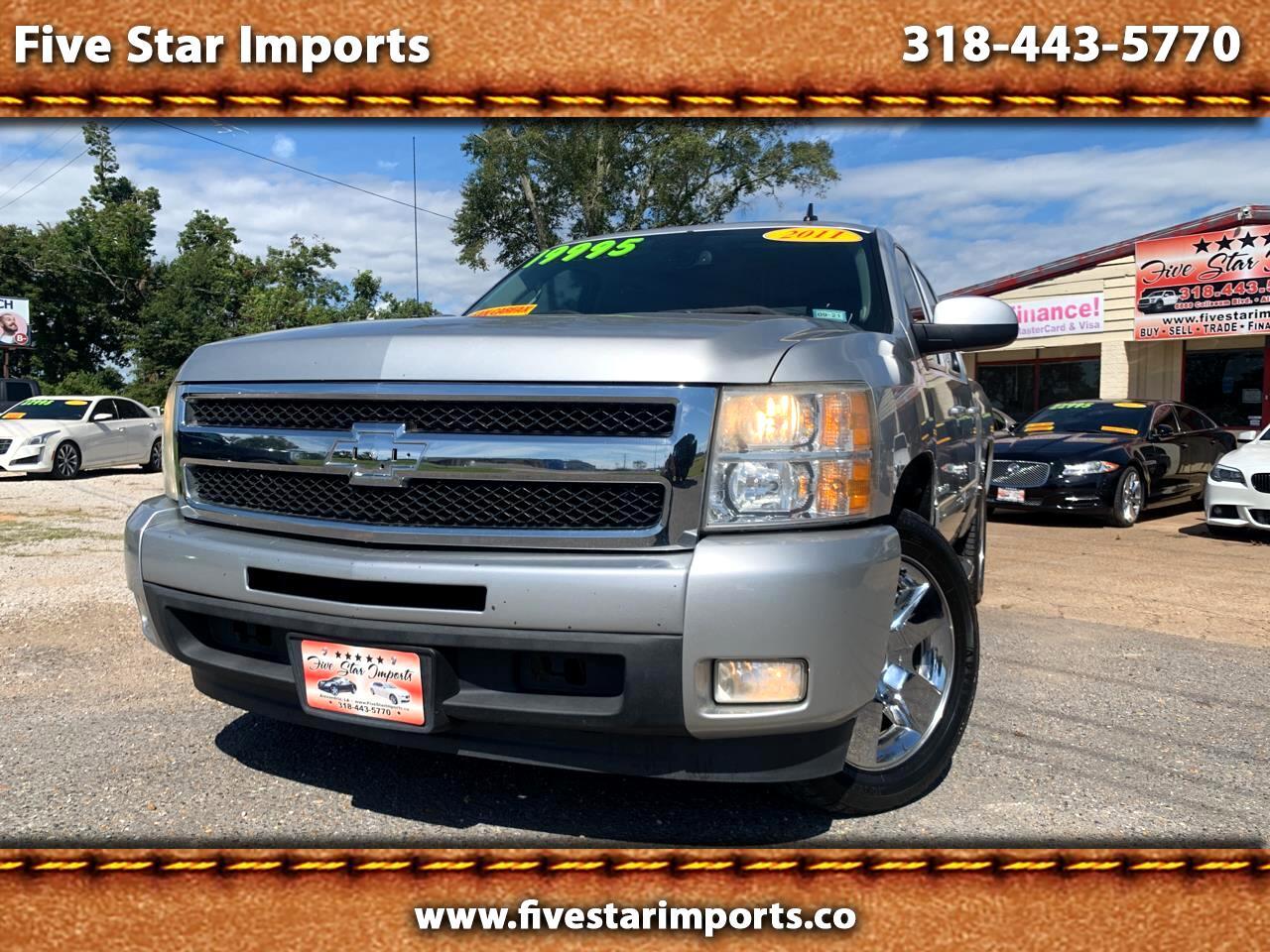 """Chevrolet Silverado 1500 2WD Crew Cab 143.5"""" LTZ 2011"""