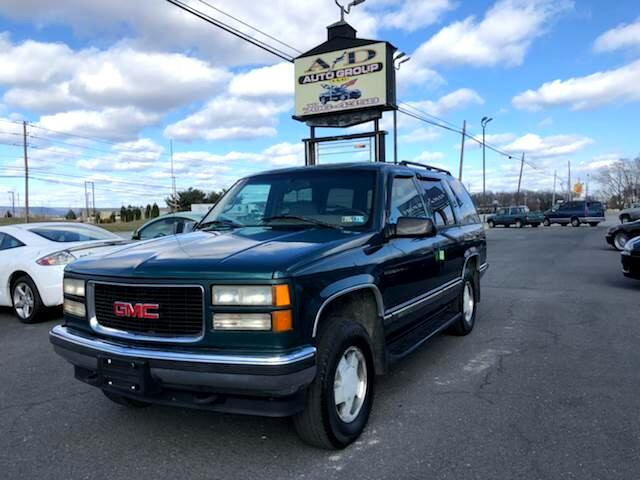 1996 GMC Yukon SLE 4-Door 4WD