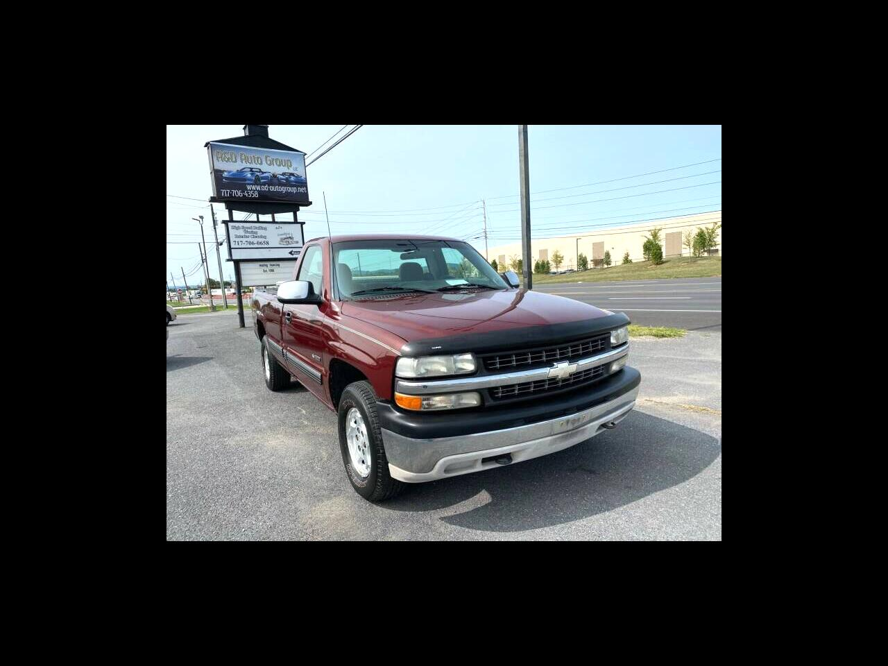 Chevrolet Silverado 1500 Long Bed 4WD 2001