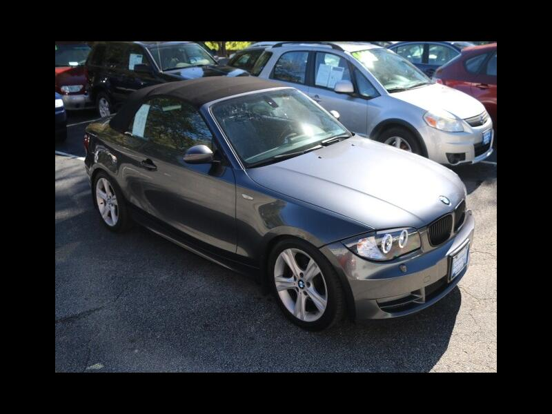 2008 BMW 1-Series 128i Convertible