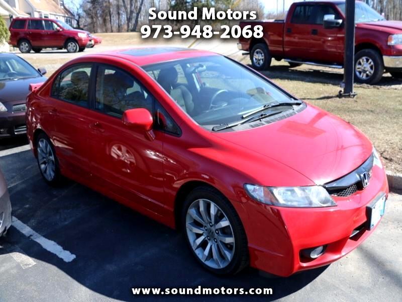 2011 Honda Civic Si Sedan 6-Speed MT