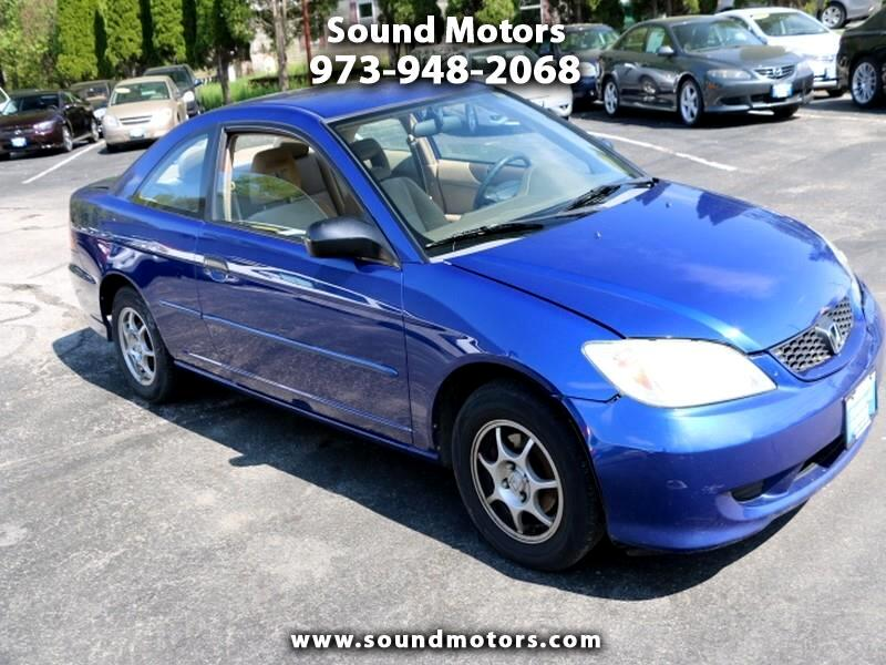 2005 Honda Civic VP coupe