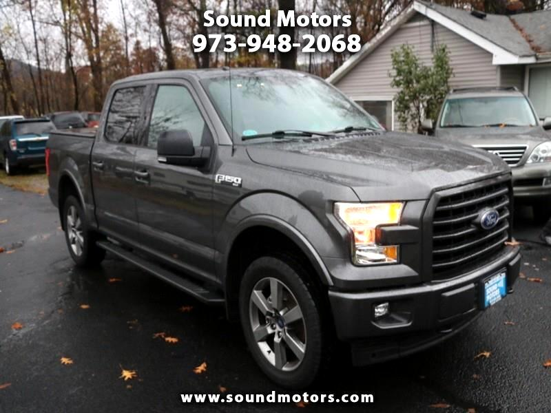 "Ford F-150 4WD SuperCrew 150"" XLT 2017"