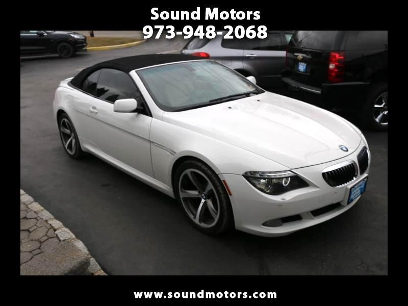 BMW 6-Series 650i Convertible 2009