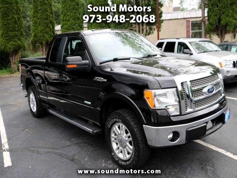 "Ford F-150 4WD SuperCab 163"" Lariat 2011"