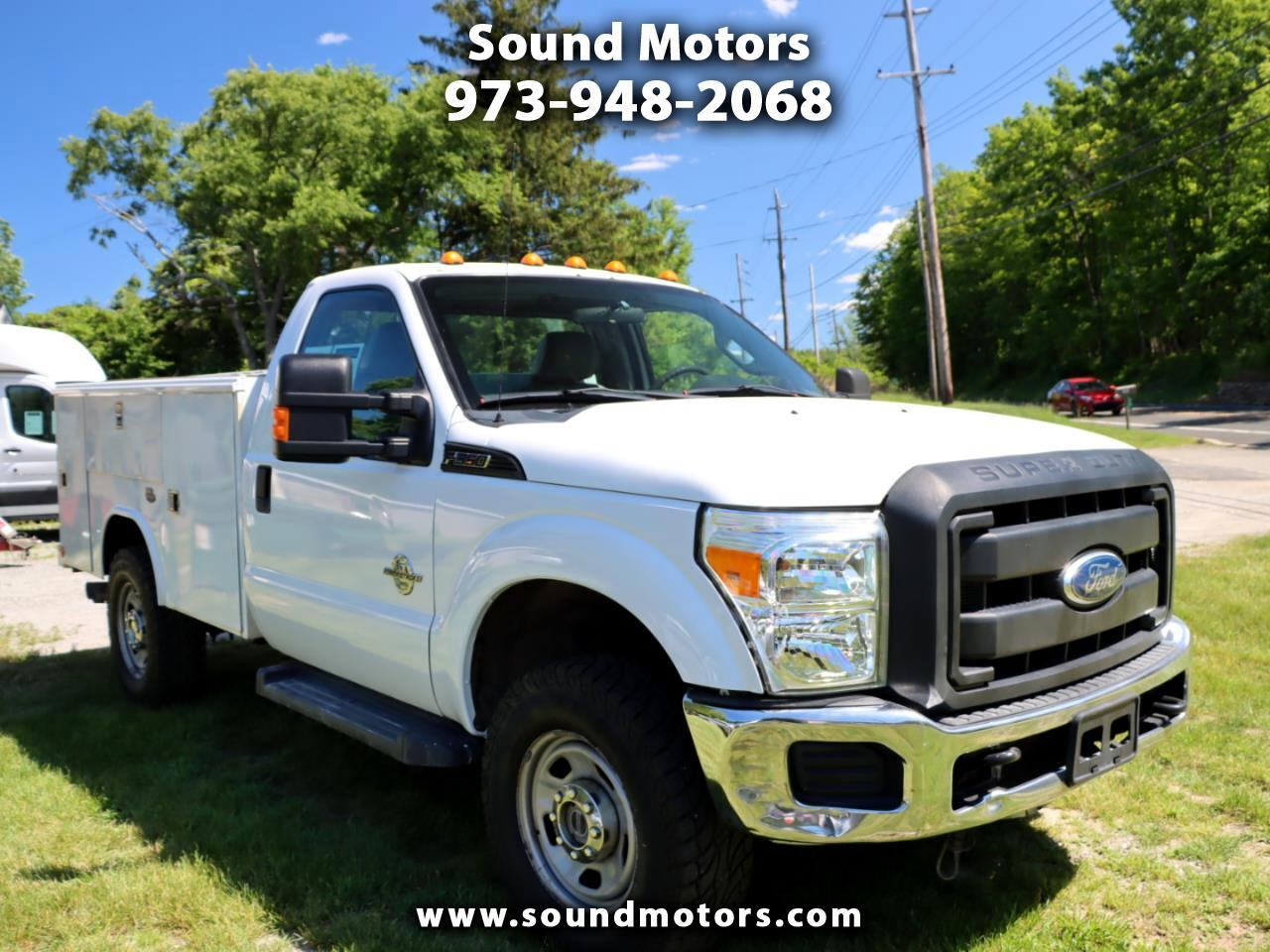 Ford F-350 SD XL 4WD 2011