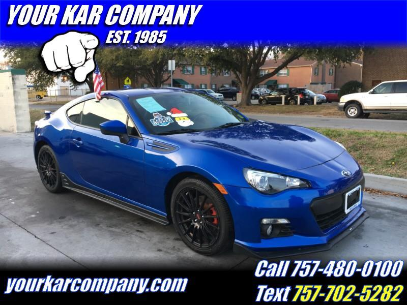 2015 Subaru BRZ Series.Blue 2dr Coupe