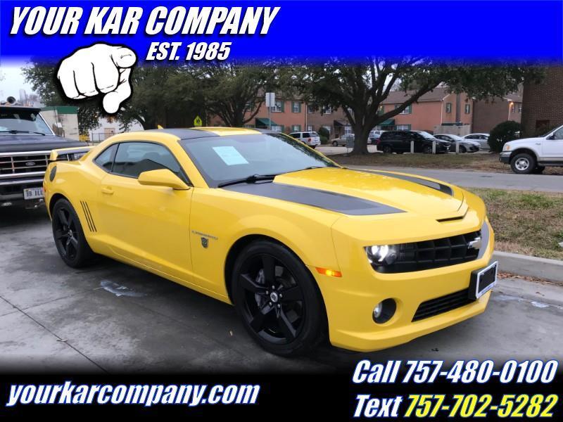 2012 Chevrolet Camaro SS Transformers Edition