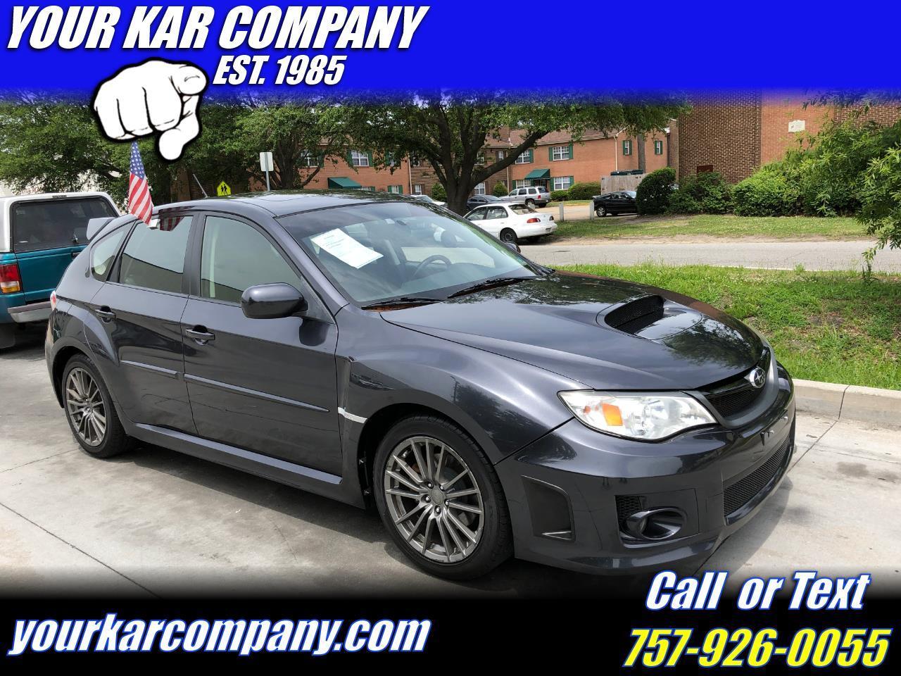 2013 Subaru Impreza WRX Premium 5-Door
