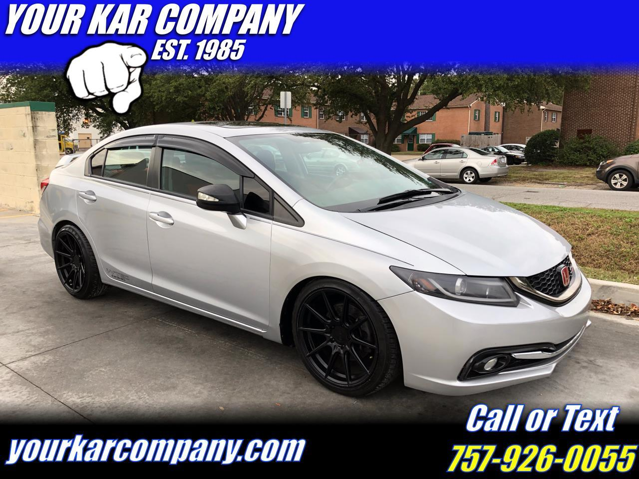 Honda Civic Si Sedan 6-Speed MT 2013