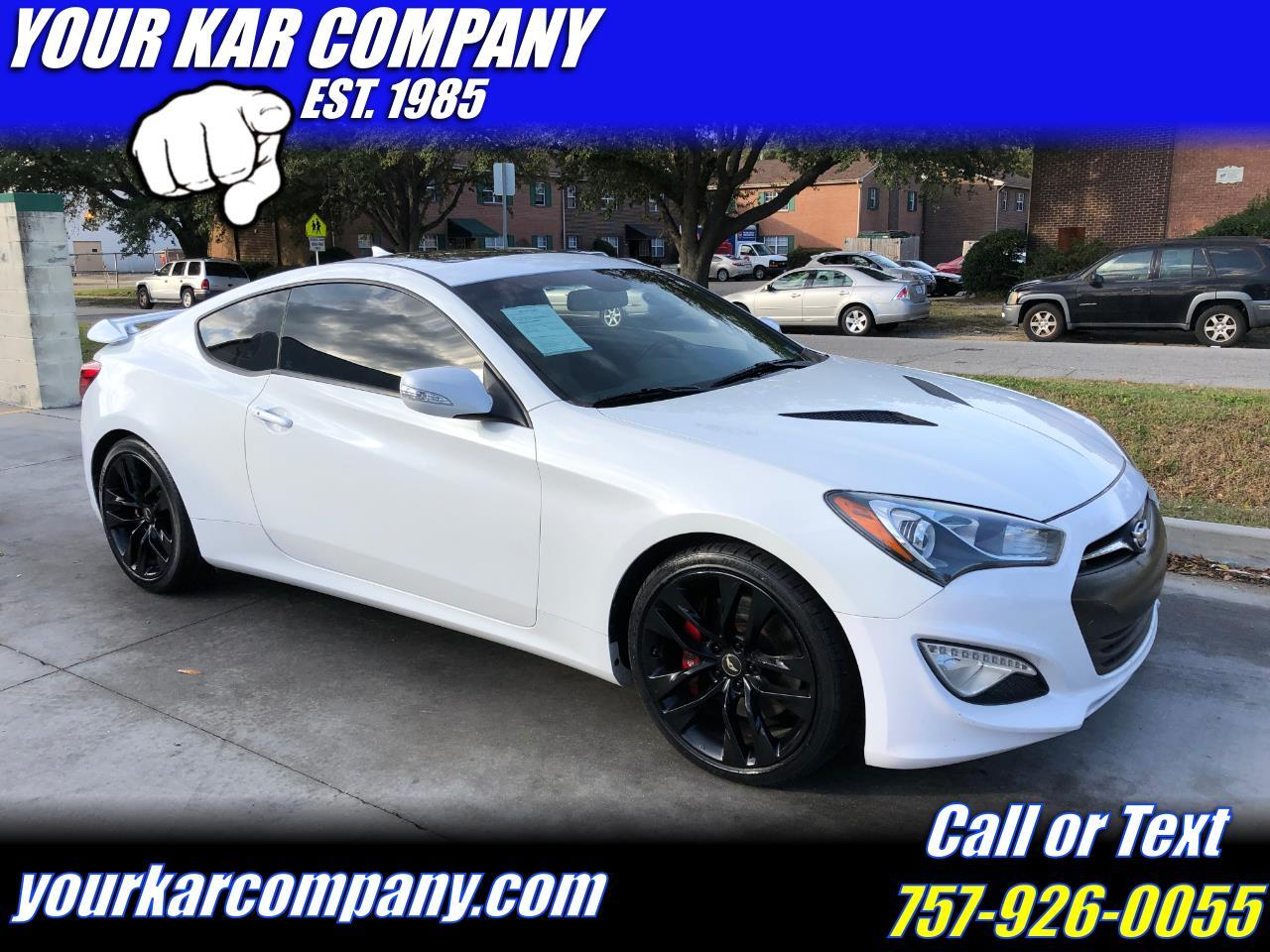 Hyundai Genesis Coupe 3.8 Ultimate 6MT 2015